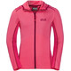 Jack Wolfskin Shoreline Jacket Kids hot pink